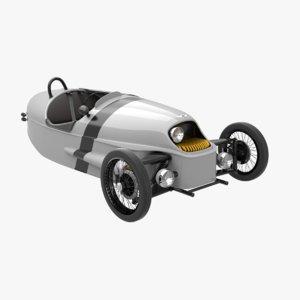 3d model morgan ev3