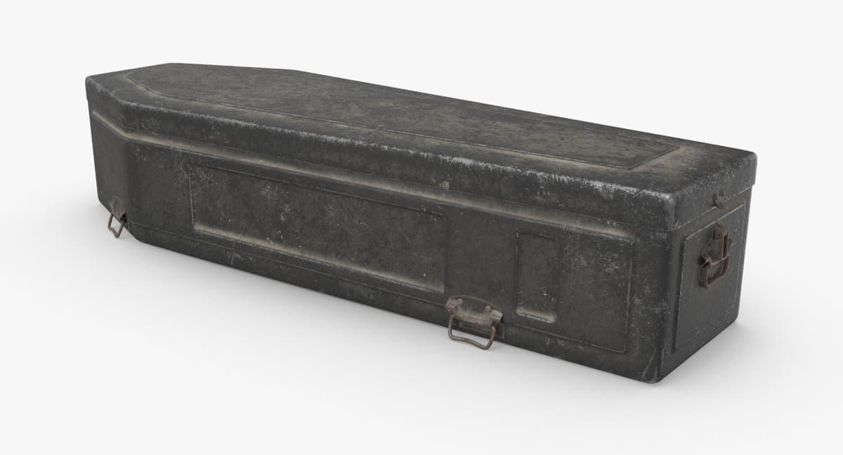 coffin-02 3D model