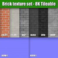 Brick Texture Set