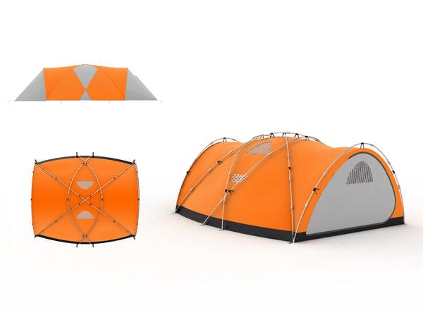 3d model of 5 season tent
