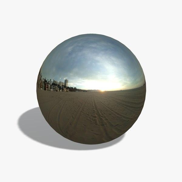 Beach Sunset HDRI
