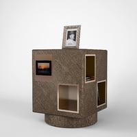 promemoria revolving bookcase meryl 3ds