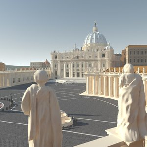 3d square saint peter