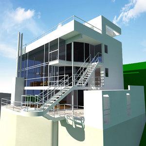 douglas house 3d 3ds