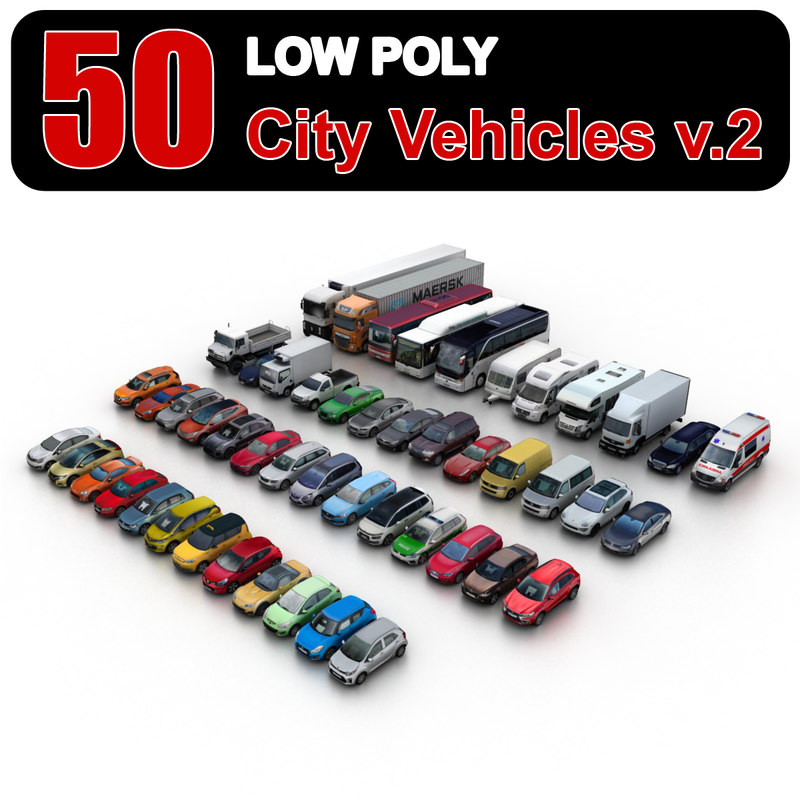 Vehicles 3D Models for Download | TurboSquid