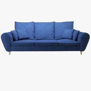 free sofa chair couch 3d model
