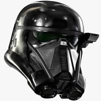 3d death trooper helmet