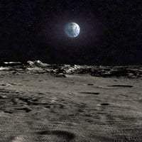 Moon Surface Landscape
