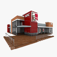 3ds kfc restaurant