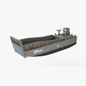 3d landing craft mechanical lcm