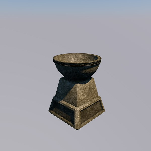 3d model stone fantasy