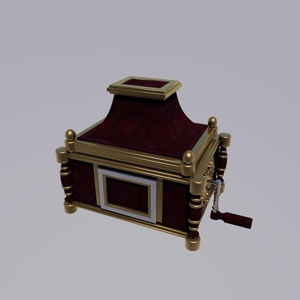 music box c4d