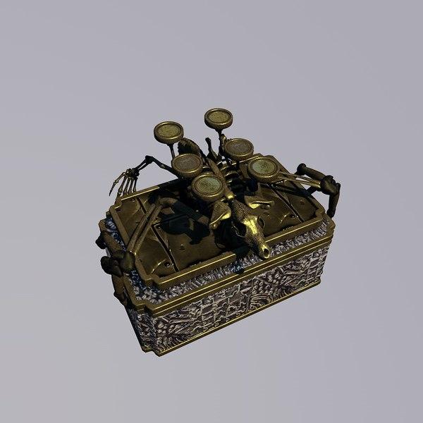 fantasy box 3d c4d