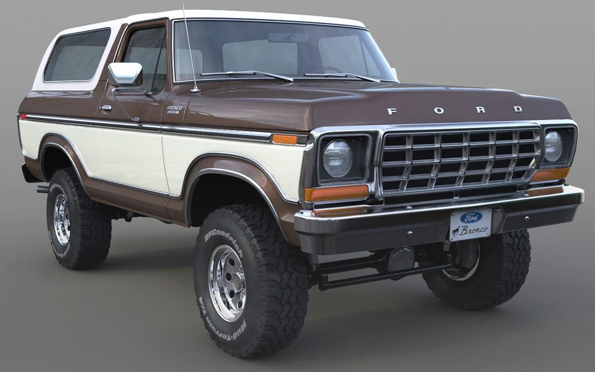 max 1978 bronco