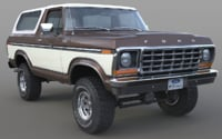 1978 Ford Bronco (with round and square headlights)