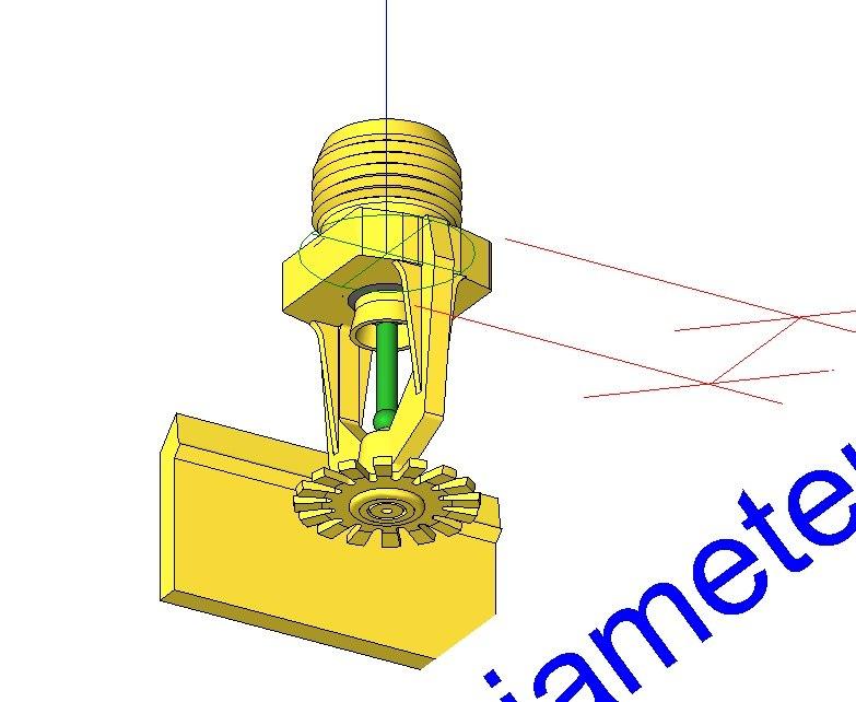 3D water meter connection revit - TurboSquid 1159464