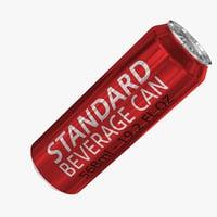 568ml 19.2oz Standard Beverage Can