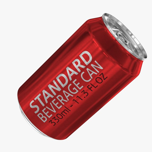 3d model standard 330ml 11 3oz