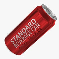 standard 440ml 14 9oz 3d obj