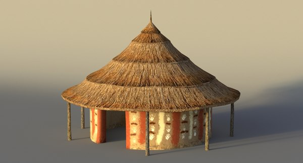 Hut 3d Models For Download Turbosquid