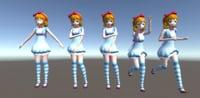 Alice 3D model Unity 5.4.3 Pack