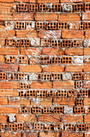 Hollow Bricks Wall