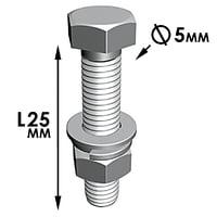 free nut bolt 3d model