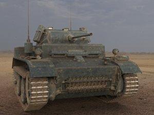 light tank pzkpfw ii 3d max