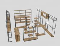 shelf store 3D