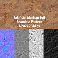 Martian Soil Seamless