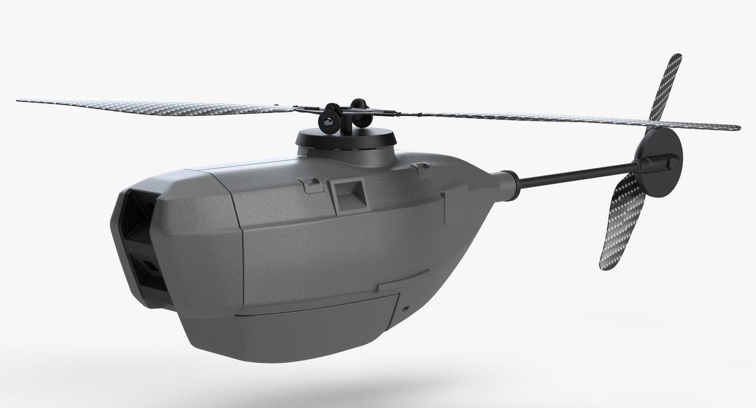 3d Model Pd 100 Black Hornet