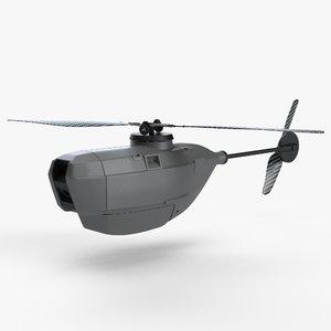 3d model pd-100 black hornet