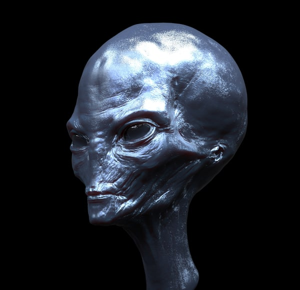 Ufo Alien Head Obj The former head of the israeli military's space division has claimed that tel aviv and washington have former israeli space #security chief haim eshed has revealed that aliens from a galactic. ufo alien head