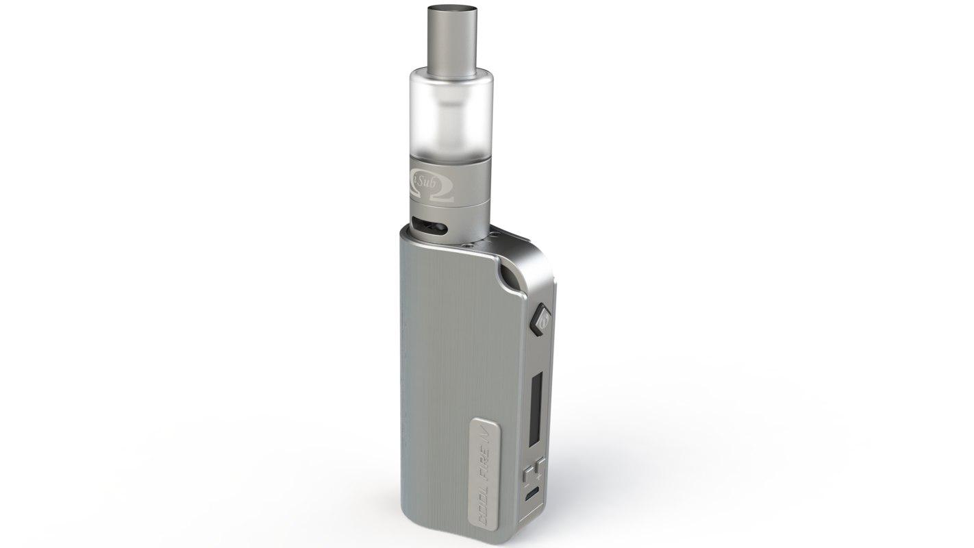 electronic cigarette 3d model