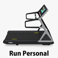 run personal technogym 3d model