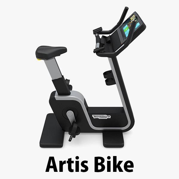 3d model exercise gym bike