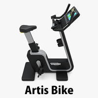 artis bike technogym c4d