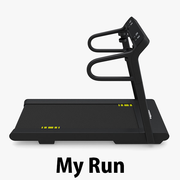 3d gym treadmill model