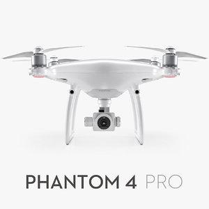 3d dji phantom 4 pro