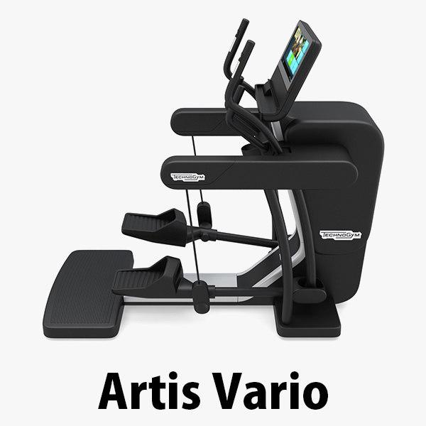 3d model gym vario