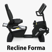 recline forma exercise 3d max