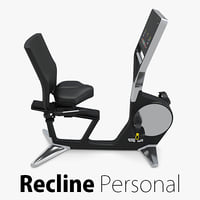recline personal technogym 3d 3ds