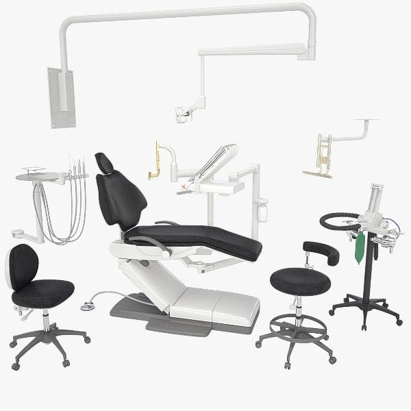 a-dec 500 dental equipment obj