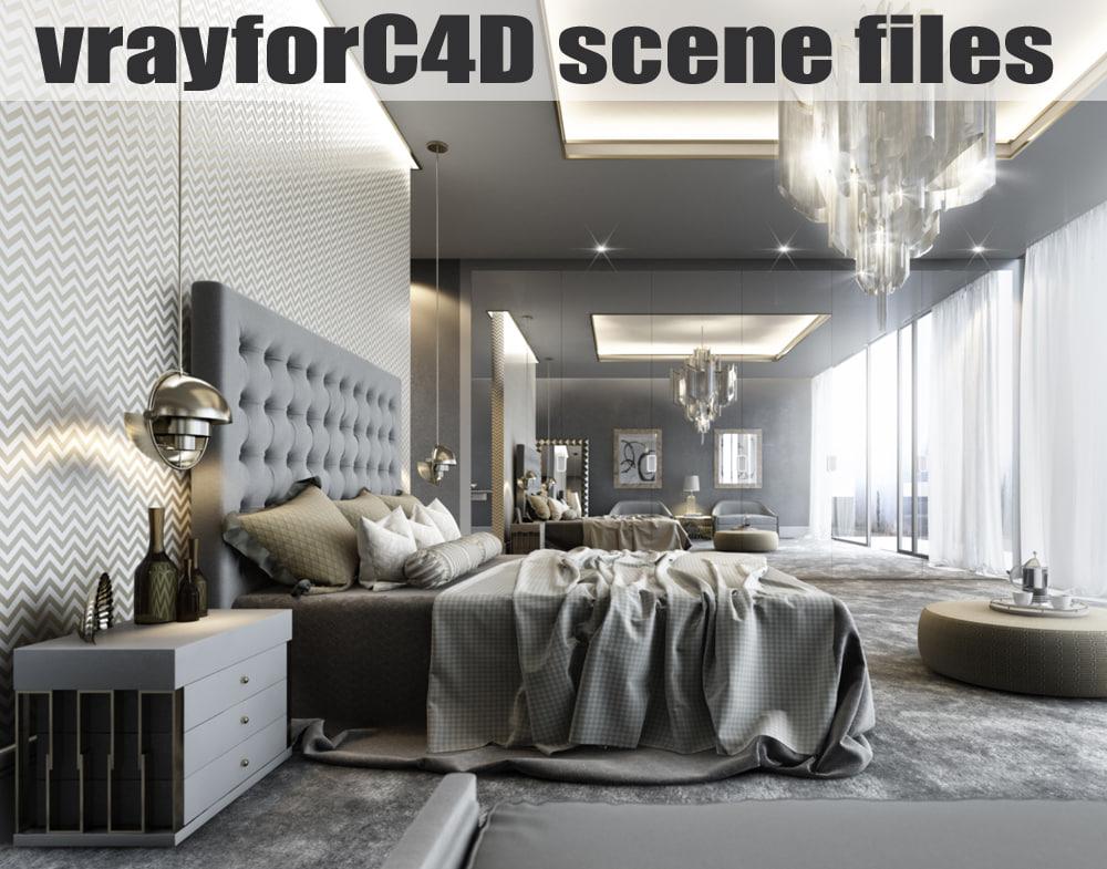 vrayforc4d scene files - 3d c4d