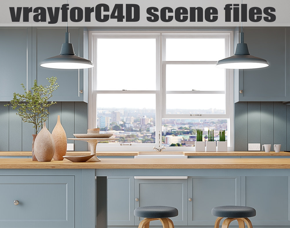 fbx vrayforc4d scene files -