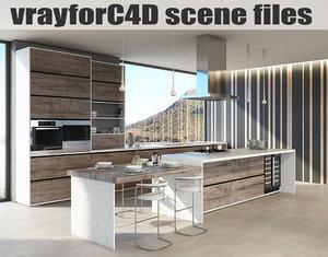 vrayforc4d scene files - c4d