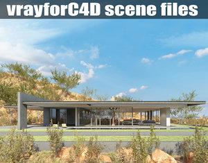 vrayforc4d scene files - 3d 3ds
