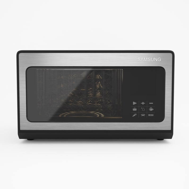 3D model microwave design