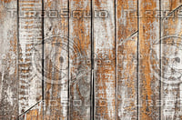 Wooden Planks with Worn Out Paint