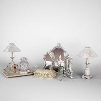 3d classsic accessories night model